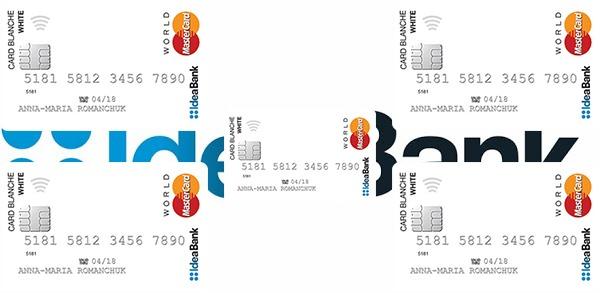 банковская карта идея банк